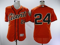 New arrivals của Men San Francisco Giants willie mays orange Jersey