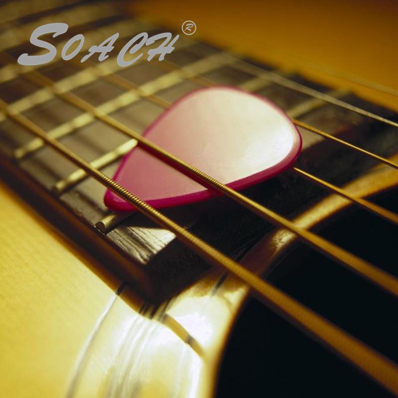 Prix pour SOACH Ordre tous guitare choix fait à l'ordre adopté choix pour votre logo à moins 100 pcs personnalisé votre guitare choix