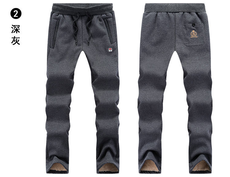 HTB1nzs7XzzuK1RjSspeq6ziHVXaA plus size L-8XL Winter pants sweatpants men joggers thicken lambskin velvet mens trousers warm casual cotton straight pants