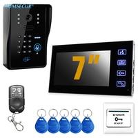 HOMSECUR Hardwired 7 LCD Video Doorbell Door Phone Intercom System Home Entry Security