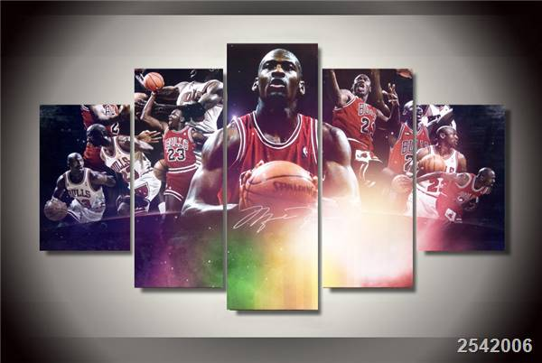 Hd Printed Basketball Star Painting On Canvas Room Decoration Print Poster Picture Canvas Free Shipping/Ny-2611 Christmas gift