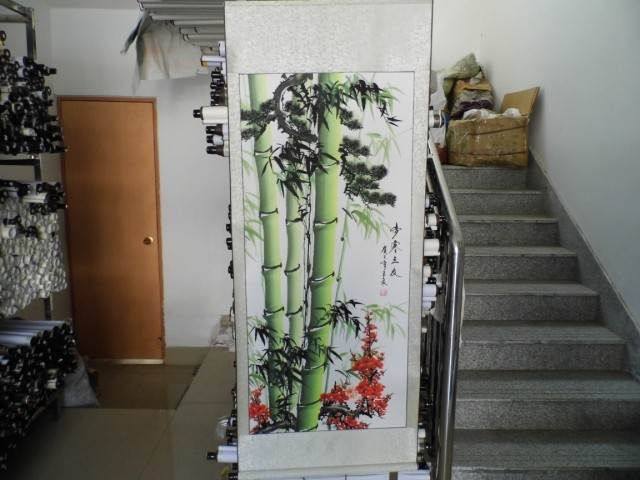 Chinese traditional painting,bamboo Chinese cultural landscape painting living room decoration painting High imitation goodsChinese traditional painting,bamboo Chinese cultural landscape painting living room decoration painting High imitation goods