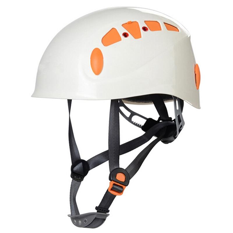 цена на Mountain Climbing Helmet Ultralight Safety Rock Climbing Helmet CE Certification Helmet Climbing 4 Colors 52-62 CM