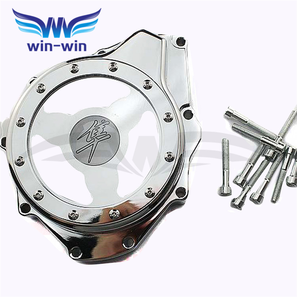 new  engine stator cover  motorcycle crank case cover For SUZUKI GSXR1300 HAYABUSA 1999 2000 2001 2002 2003 2004 2005 2006 2007 for suzuki gsxr1000 2001 2002 2003 2004 2005 2006 2007 2008 motorcycle parts engine stator cover crankcase