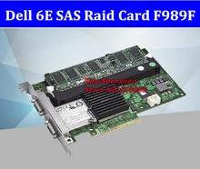 Hohe Qualität Dell 6E Raid Controller Karte SAS Externe Array Karte F989F MD1000 MD3000 Disk Schrank