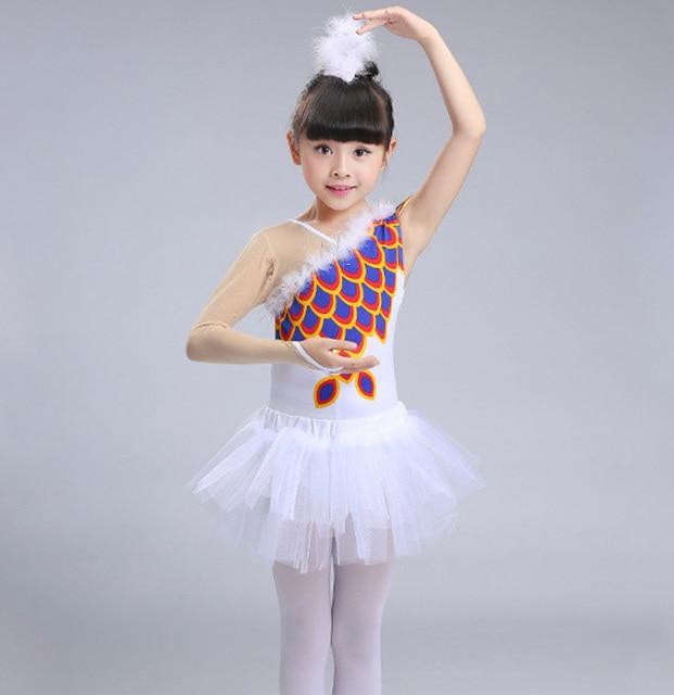 kind wei e feder ballett gymnastik trikot kleid tutu dance kost me f r m dchen schwanensee. Black Bedroom Furniture Sets. Home Design Ideas