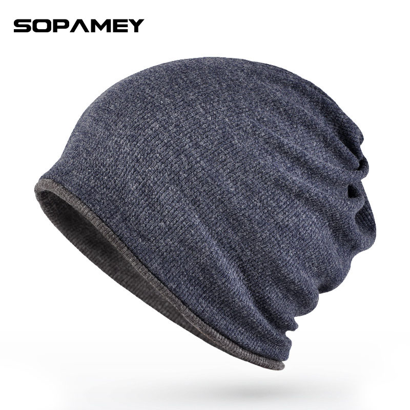 2017New Brand Spring Autumn Winter Warm Hat Knitting Women Men Cap Wool Solid Elastic Beanie Skullies Beanies Hedging Hats simplee knitting wool ball skullies beanies casual streetwear warm hat cap women autumn winter 2017 cute beanie hat female