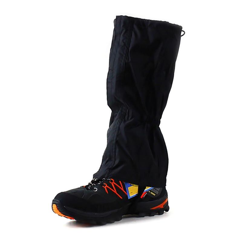 Outdoor Schnee Wasserdichte Bein Gamaschen für Jagd Wandern Skifahren Radfahren Trekking Stiefel Schuhe Bein Abdeckung Gamaschen