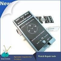 Quartz Montre Mouvement Impulsion Testeur, Montre Bouton Batterie Checker Batterie Montre Testeur, Mulit-fonctions Montre Outils De Réparation