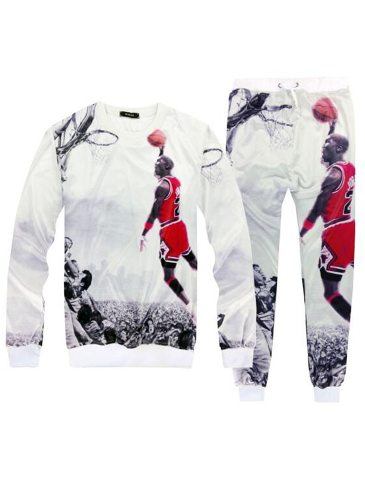 Brand New Men Sets Fashion Autumn Spring Sporting Suit Sweatshirt +Sweatpants Mens Clothing 2 Pieces Sets Slim Tracksuit