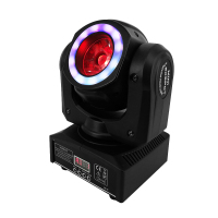 Novelties Mini LED Beam 40W Lighting Beam Moving Head Light DMX Stroboscope Stage Light For perfect for clubs theaters Wedding