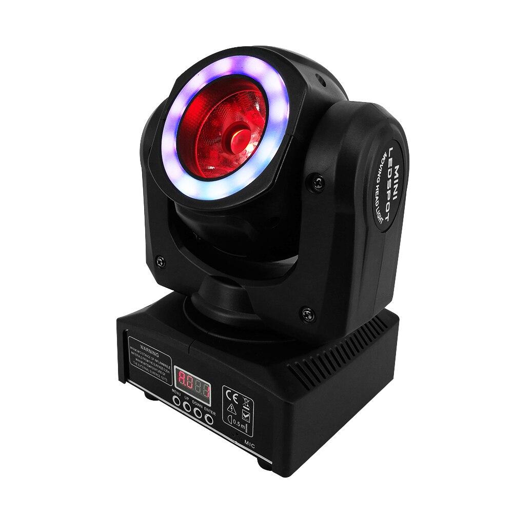 Novità Mini LED Fascio 40 W Illuminazione Fascio Moving Head Light DMX Stroboscopio Luce Della Fase Per una perfetta per i club teatri Wedding