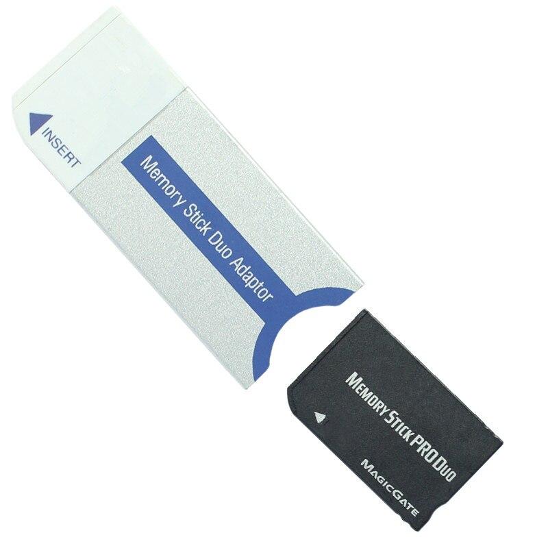 PSP קידום Memory Stick Pro Duo Memory Card מתאם עבור PSP / מצלמה MS כרטיס זיכרון Stick Pro Duo מתאם (3)