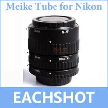 Meike MK-N-AF-B, MK-N-AF-B Meike Enfoque Automático AF Enfoque Automático Tubo de Extensión Macro Set para Nikon D-SLR de La Cámara