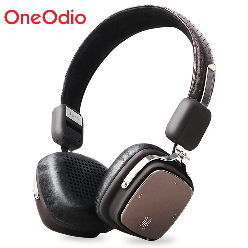Wireless Headphone Bluetooth Headset Headphones Bluetooth 4.1 Metal Stereo Wireless Headphones With Mic For iPhone Xiaomi Phone цена