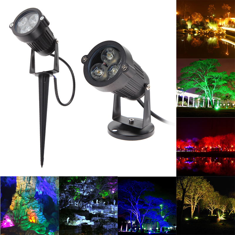 Quality Landscape Lighting Fixtures: Top Quality 9W LED Lawn Light Lamp 12V Outdoor Waterproof
