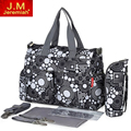 High Quality Multifunctional Diaper Bags Mother Bag Maternity Mummy Nappy Bags Flower Style Mom Handbag Baby Stroller Bag