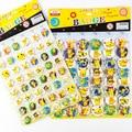 New Kawaii 48pcs/set Pokemon Go PC Pikachu Pin Badges,Round Brooch Badge Kids Clothing Accessories Decoration 4.5CM Metal
