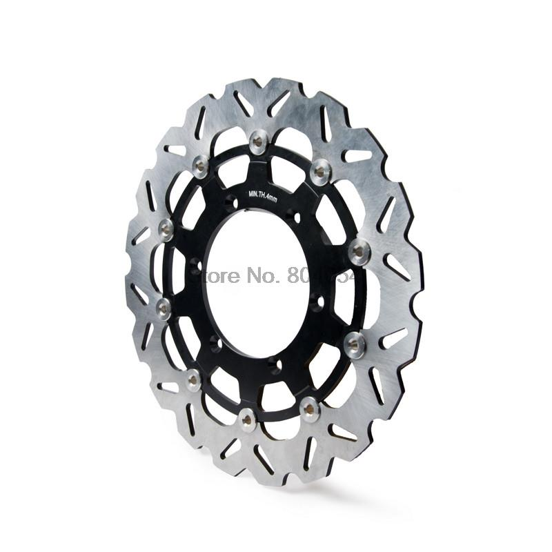 320mm Supermotor Floating Brake Disc Rotor For Yamaha WR125 YZ125 WR250 WR250F YZ250 YZ250F YZ400F WR400F NEW keoghs motorcycle brake disc brake rotor floating 260mm 82mm diameter cnc for yamaha scooter bws cygnus front disc replace