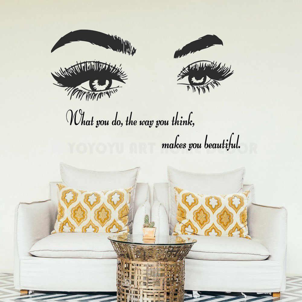 Detail Feedback Questions About Art Salon Sticker Beauty Salon