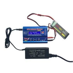 Image 4 - Cabzty iMax B6 Balance Charger 80W 6A Model Li Po/Li Fe/Ni MH/Li lon/Ni Cd/PB Battery Charger T plug (12V/5A adapter optional)