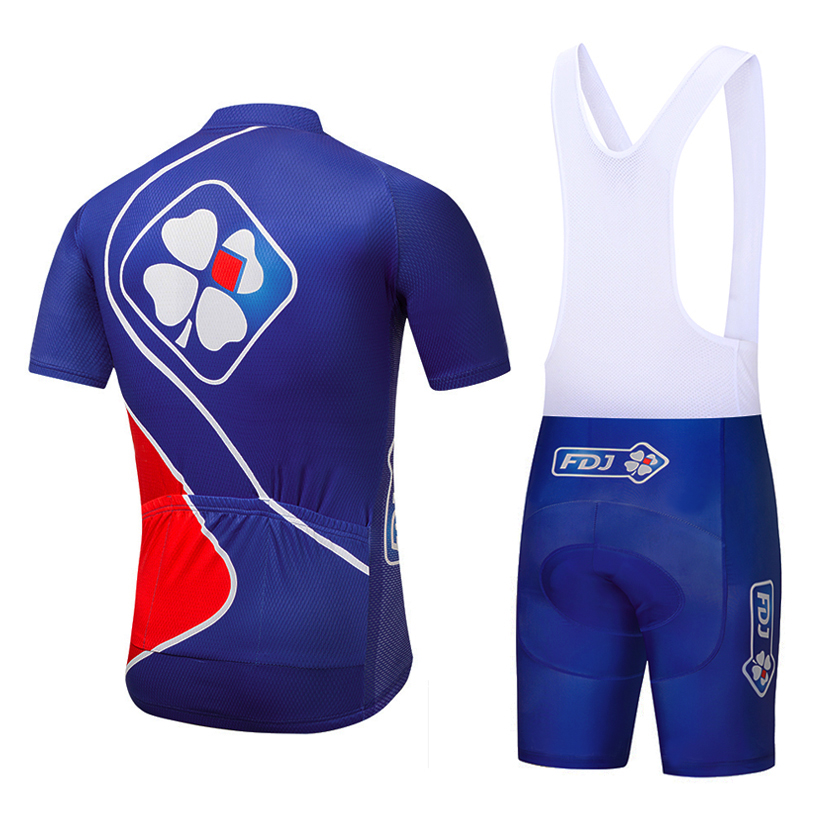 New 2019 Team BLUE FDJ cycling jersey bike shorts set Ropa Ciclismo quick  dry pro Bicycling shirts Maillot Culotte Clothing-in Cycling Sets from  Sports ... cf002fe6d