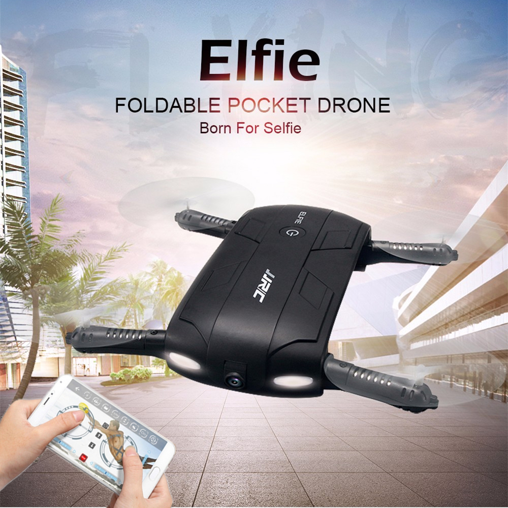 Original JJRC H37 Selfie Drone With Camera Foldable Pocket Fpv Quadcopter Rc Drones Phone Control Wifi Helicopter Mini Dron