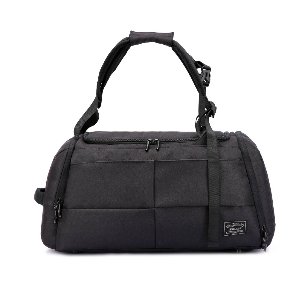 Sport Travel Duffle Bag Back Pack Gym Weekend Holdall Messenger Handbag  With Lock Safety Men Women Large Big Capacity-in Top-Handle Bags from  Luggage   Bags ... 6e178c6c12be