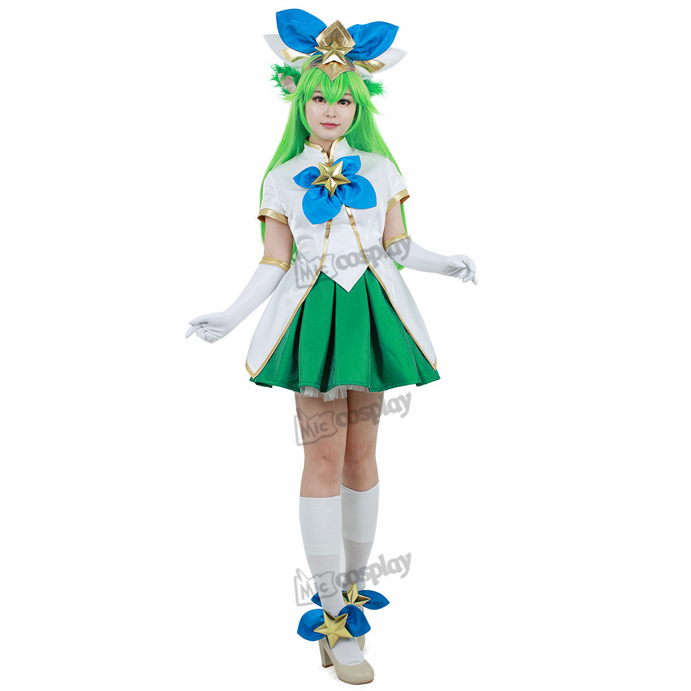 Lulu Costume Cosplay haut jupe