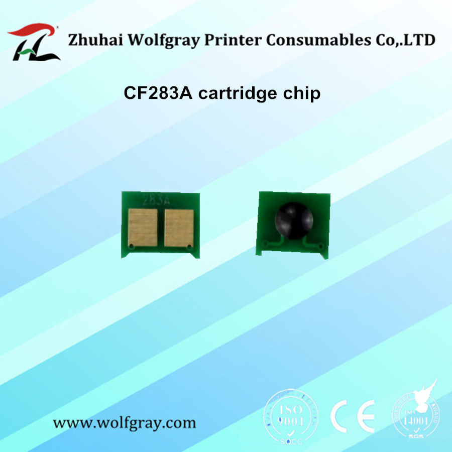 Chip for hp colour cf 400 a cf 400 m252dw m 277n m 252 mfp 252 n - 20pcs Cf283a 283a 83a Toner Cartridge Chip For Hp Laserjet Pro 100 Mfp M125 M127fn