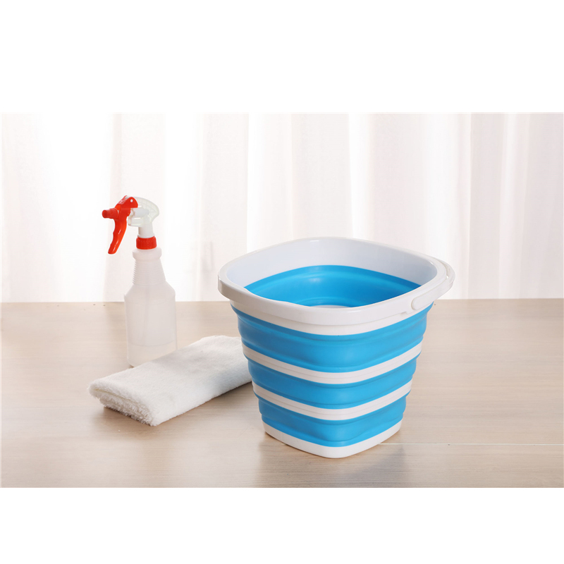 Folding Bucket Portable Art Car Wash Fishing Bathroom Kitchen Silicone Travel  Outdoor Camping Supplies