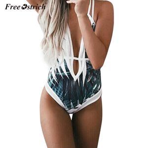 Basic Bodysuit Straps Plain Women Skinny Sexy Stretchy V-Neck Summer N30 Free-Ostrich