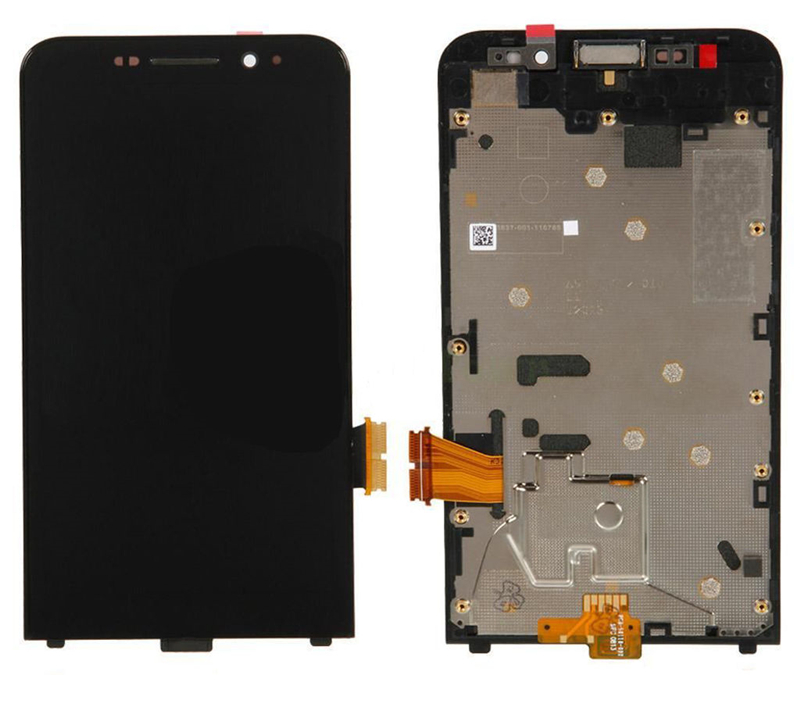 ФОТО Replacement Front LCD Display Touch Screen Digitizer +Frame for Blackberry Z30