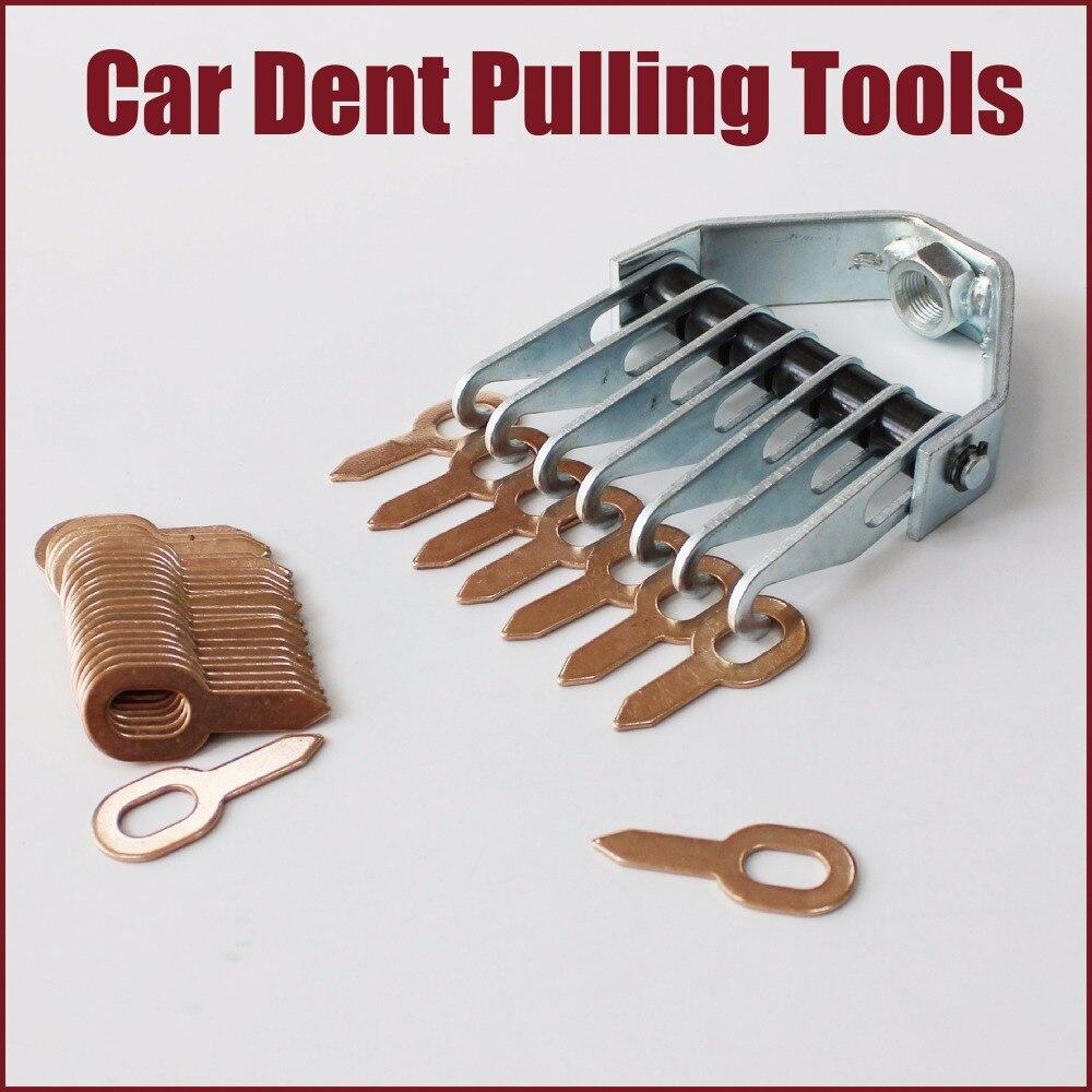 Ferramentas de carro kit de reparação dent extrator dent removedor remoção sistema puxando ferramentas manuais máquina de lavar anel de garra de urso auto corpo em linha reta painel