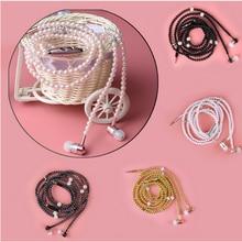 Pearl Necklace Earphones