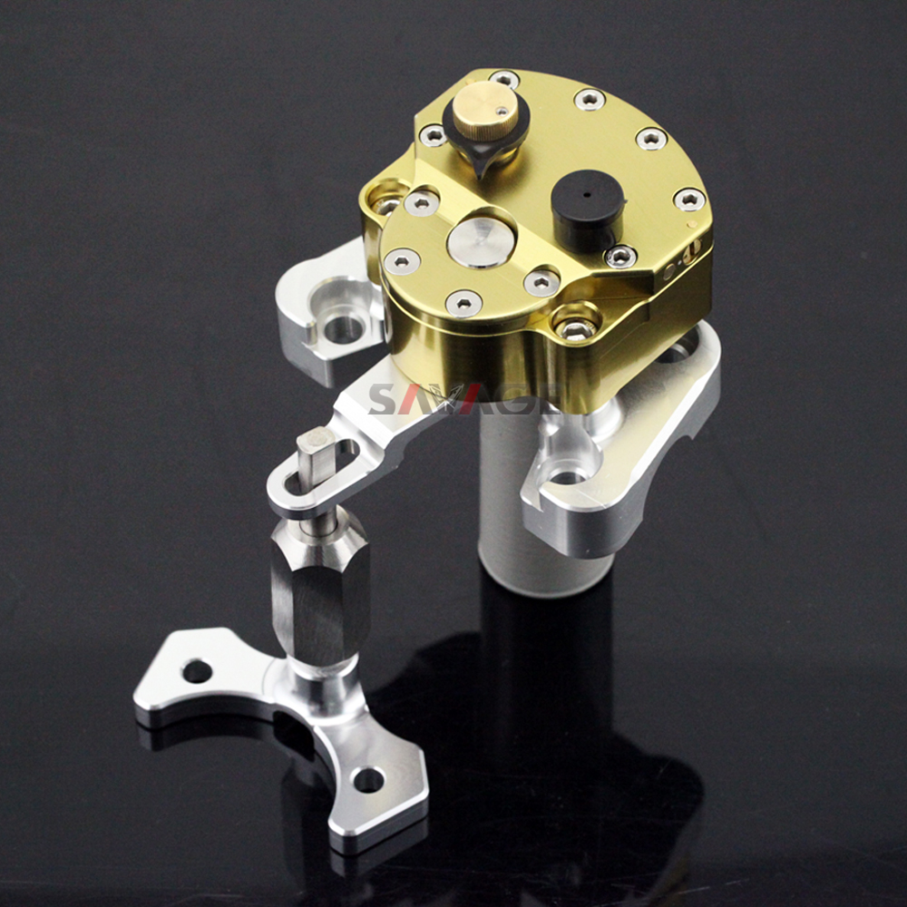 Steering Damper Stabilizer For DUCATI Monster 796 10-15 Monster 1100/S/EVO 09-13 Motorcycle Accessories with Mounting Bracket