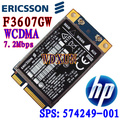 Unlocked Ericsson F3607gw/ For Hp Hs2330 3g Wwan Hsdpa Module 7.2mbps Sps #:574249-001 Wcdma Edge 3g/2g Network Card Wireless