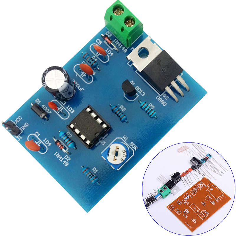 Pulse Width Modulator Circuit Diagram
