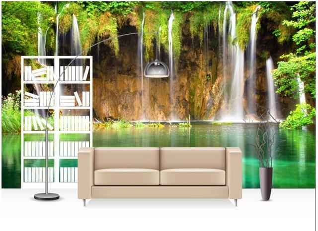 personnalis photo 3d papier peint non tiss murale wall. Black Bedroom Furniture Sets. Home Design Ideas