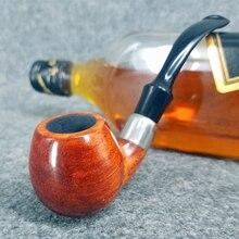 12 Стили Палисандр Курения Табака Трубы С Деревянные Кольца Курительная трубка для Курения табака с 6 некурящих инструменты комплект AD0038