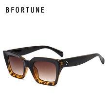 BFORTUNE Cuadrado Vendimia gafas de Sol Mujeres Hombres Diseñador de la Marca de Espejo Retro Gafas de Sol Oculos Feminino Lentes De Sol Gafas de Mujer