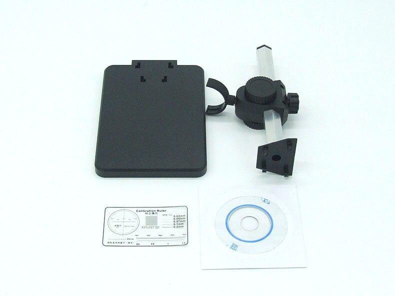 HD 1200X а. в. Цифровой Микроскоп Высокого Разрешения Электронный Микроскоп 8-LED Монитор Не Включен