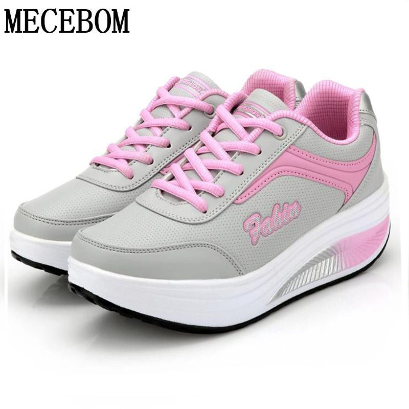 2018 N Summer Hollow Camping Flat Heel Wedge Platform Sneakers Sport women Shoes Shake l ...