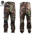 New  Tactical bdu G3 Combat Pants Emerson BDU Military Army Pants with Pads Woodland