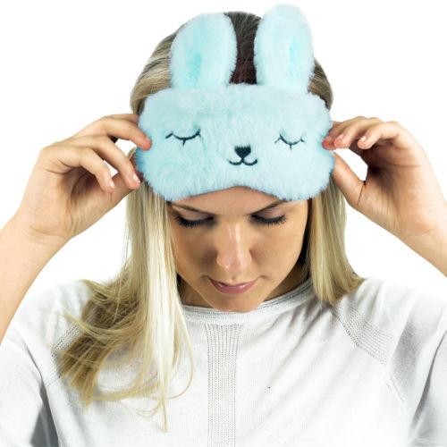 Sinnvoll Neue Nette Tier Rest Schlaf Eye Maske Padded Lustige Tier Cartoon Plüsch Augen Maske Schatten Abdeckung Reise Entspannen Hilfe Augenbinde SorgfäLtig AusgewäHlte Materialien Masken