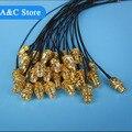 Comercio al por mayor 10 UNIDS RF1.13 cable IPEX a RP-SMA-Hembra Antena WiFi Pigtail 15 cm cable envío gratis