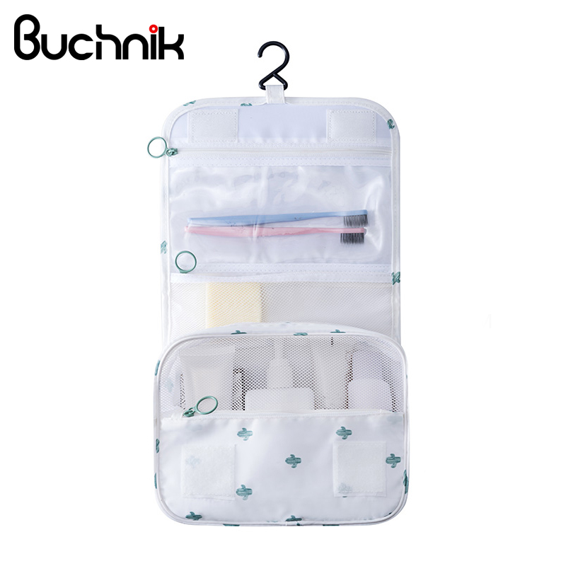 Portable Makeup Wash Storage Bags Hanging Toiletry Cosmetic Case Oxford Organizer Travel Accessories Supplies Product