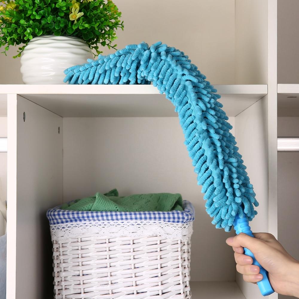 Chenille Microfiber Duster Cleaner ročaj Fleksibilno pralno - Gospodinjski izdelki