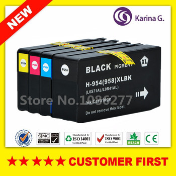 Compatible ink cartridge For HP 954 HP954 HP 954XL suit For OfficeJet Pro 7740 8210 8710 8715 8716 8720 8725 8730 8740 etc. цена 2017