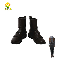 Rogue One A Star Wars Story Jyn Erso Boots Halloween Black Shoes Party Carnival Accessories For